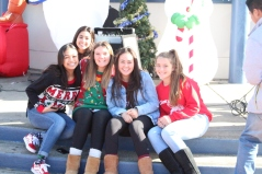 Ugly Sweater day with Leadership gals