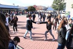 Jett Walker and Eva Roth dancing it up